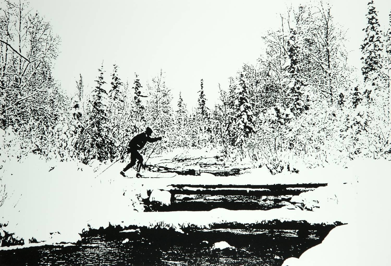 Cross Country Skier (Alaska)