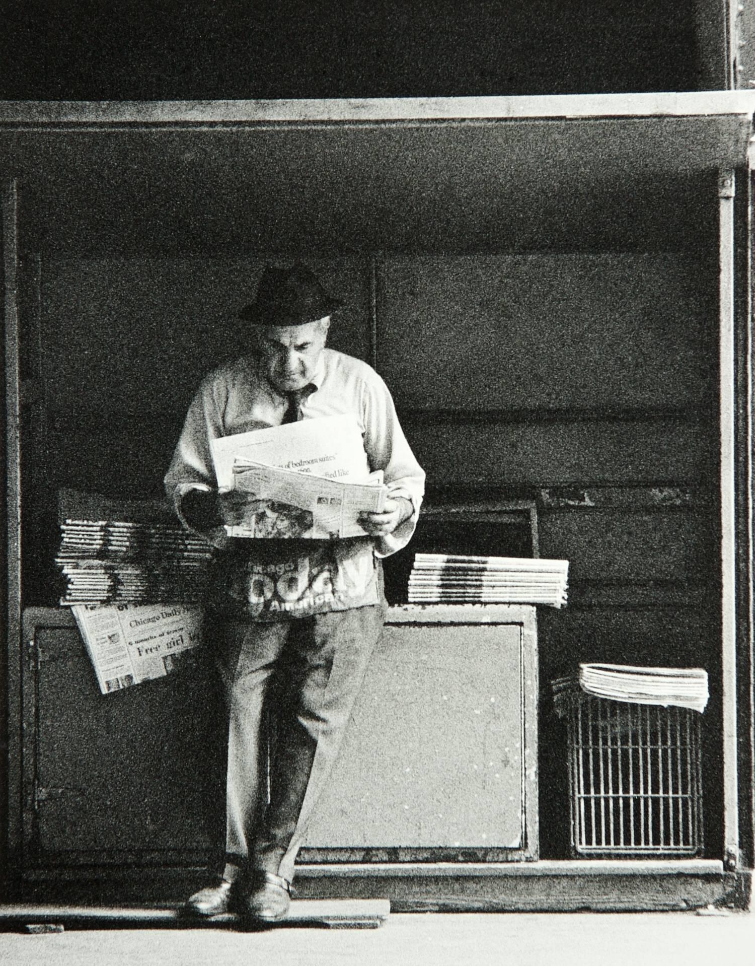Newspaper Man (Chicago)