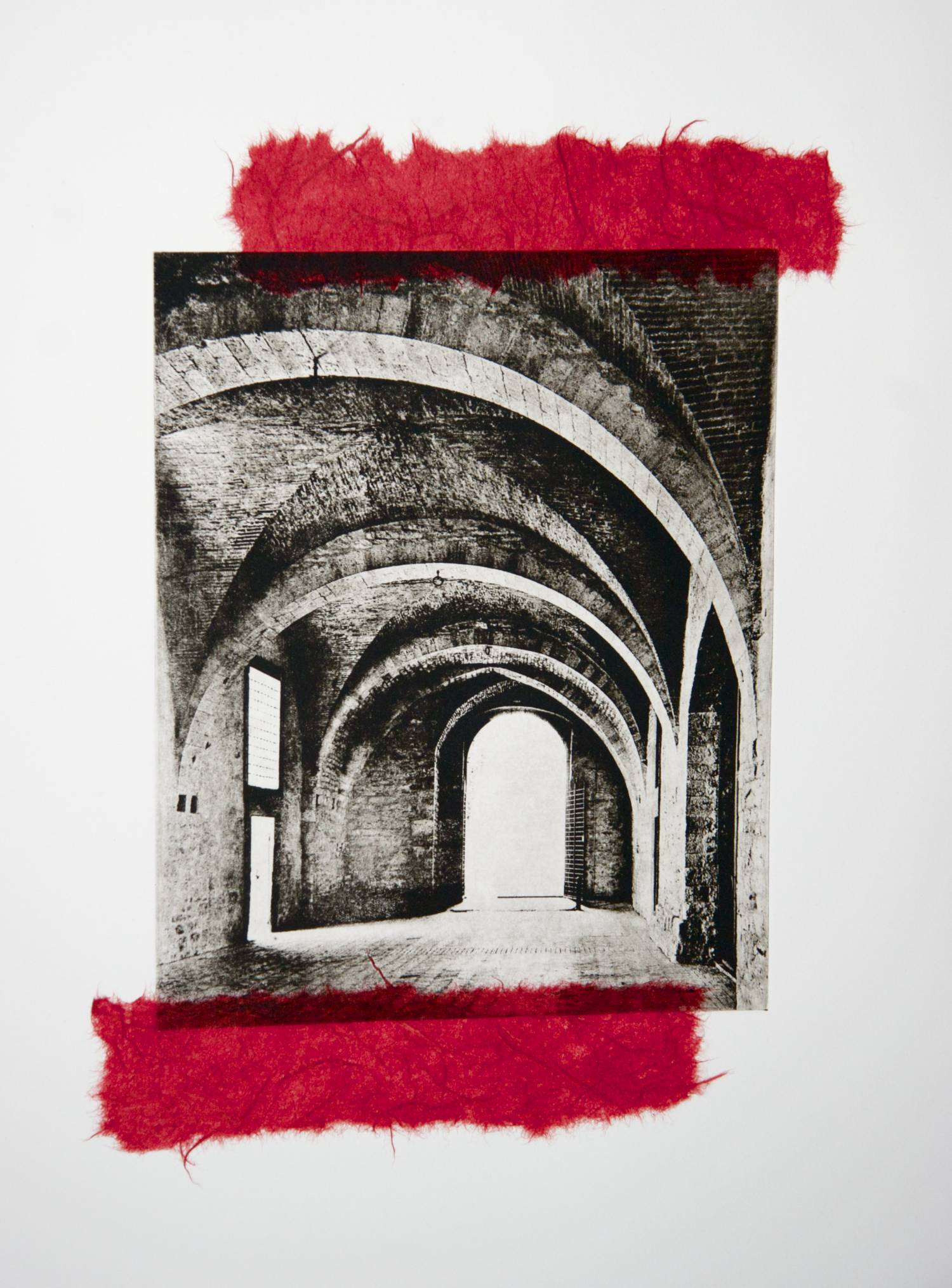 Archway chine-collé (red)