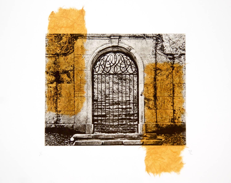 Dumbarton Gate chine-collé (mango)