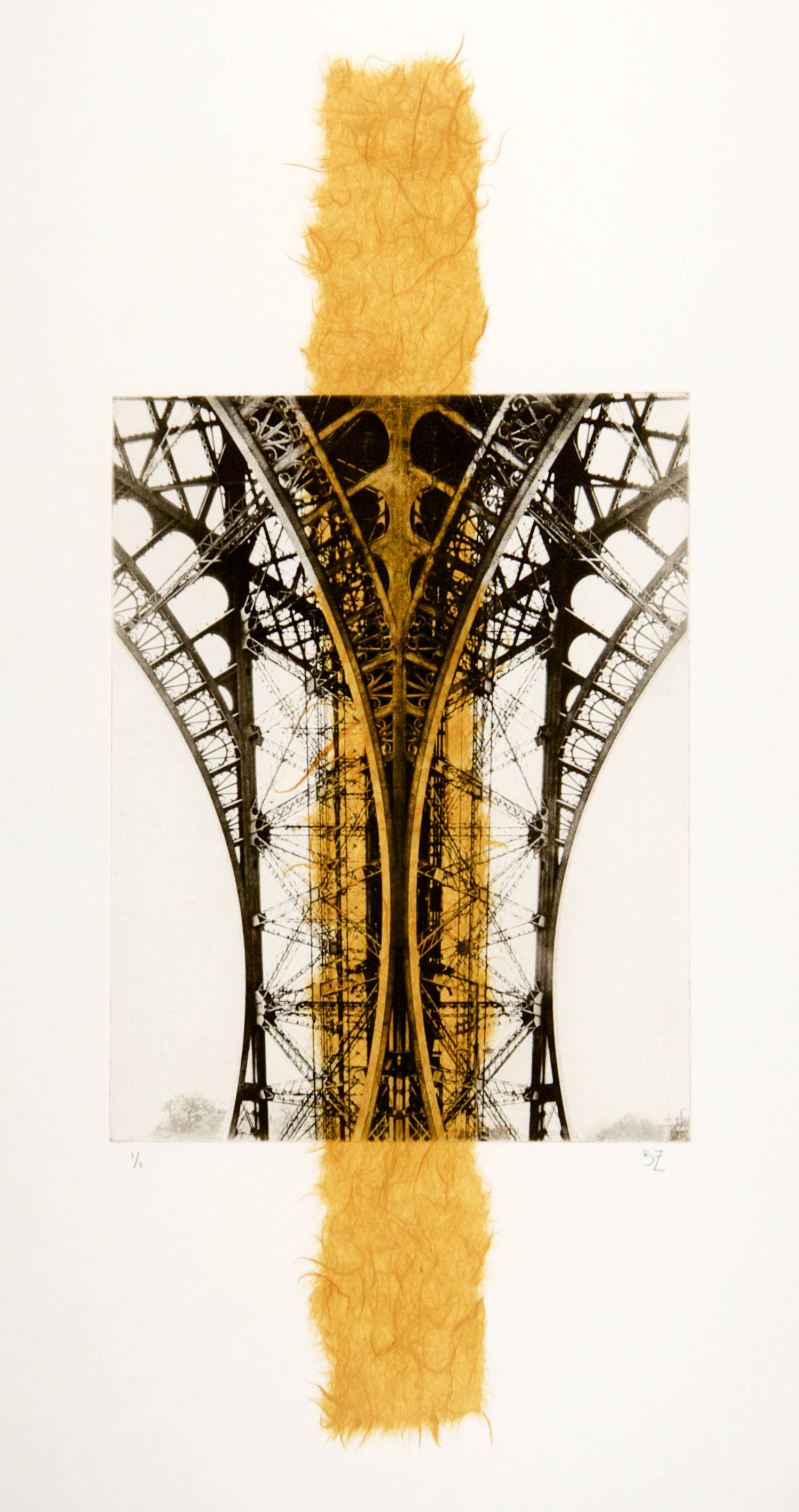 Eiffel chine-collé (mango)