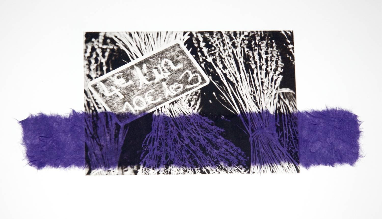 Lavender chine-collé (purple)