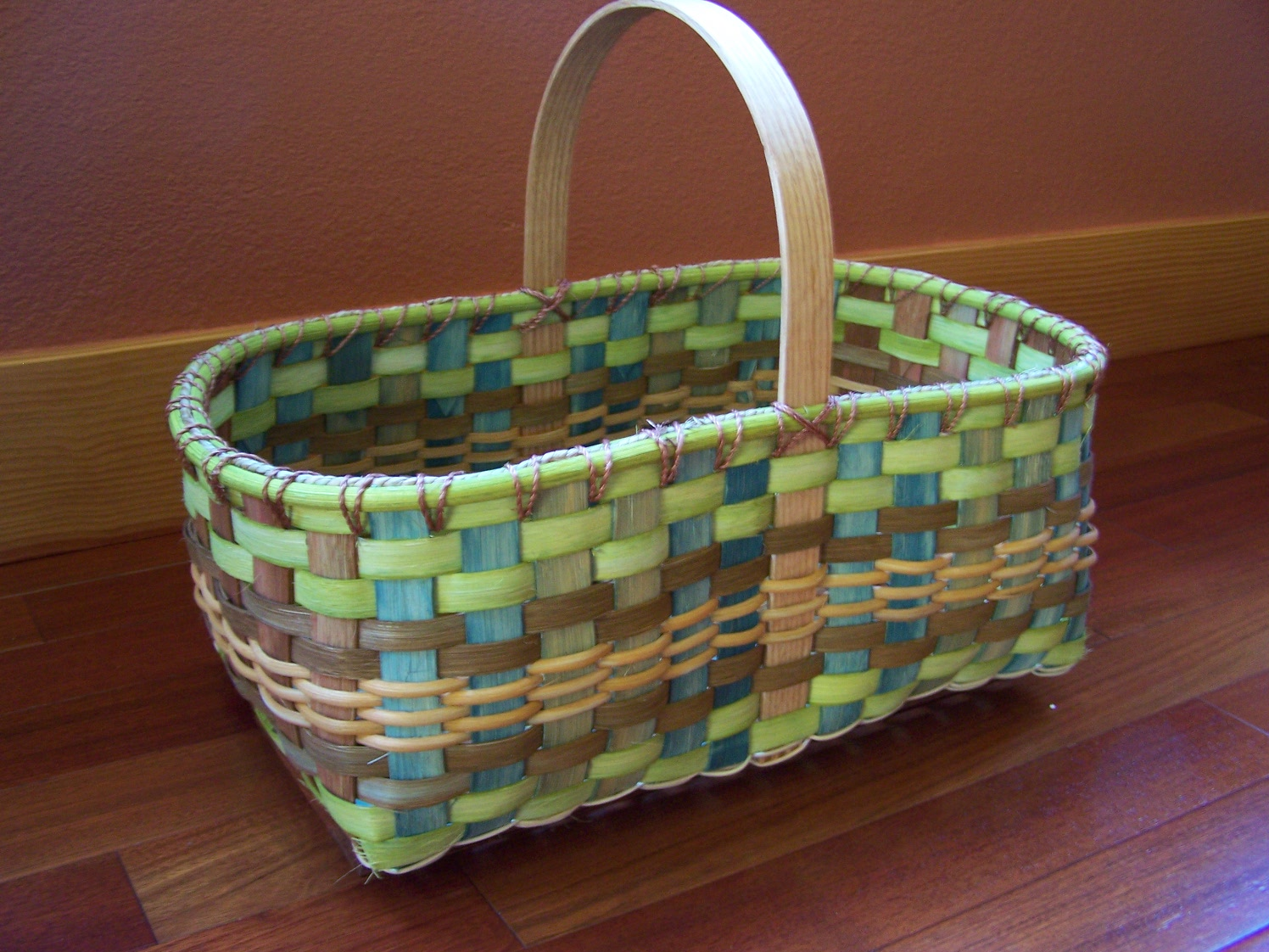 Light Green Market Basket