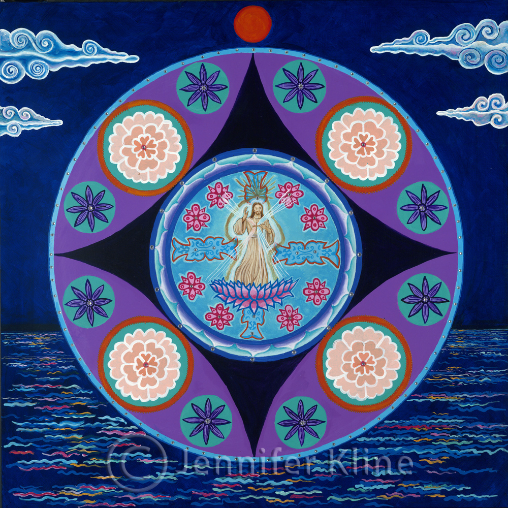 Christ On The Lotus