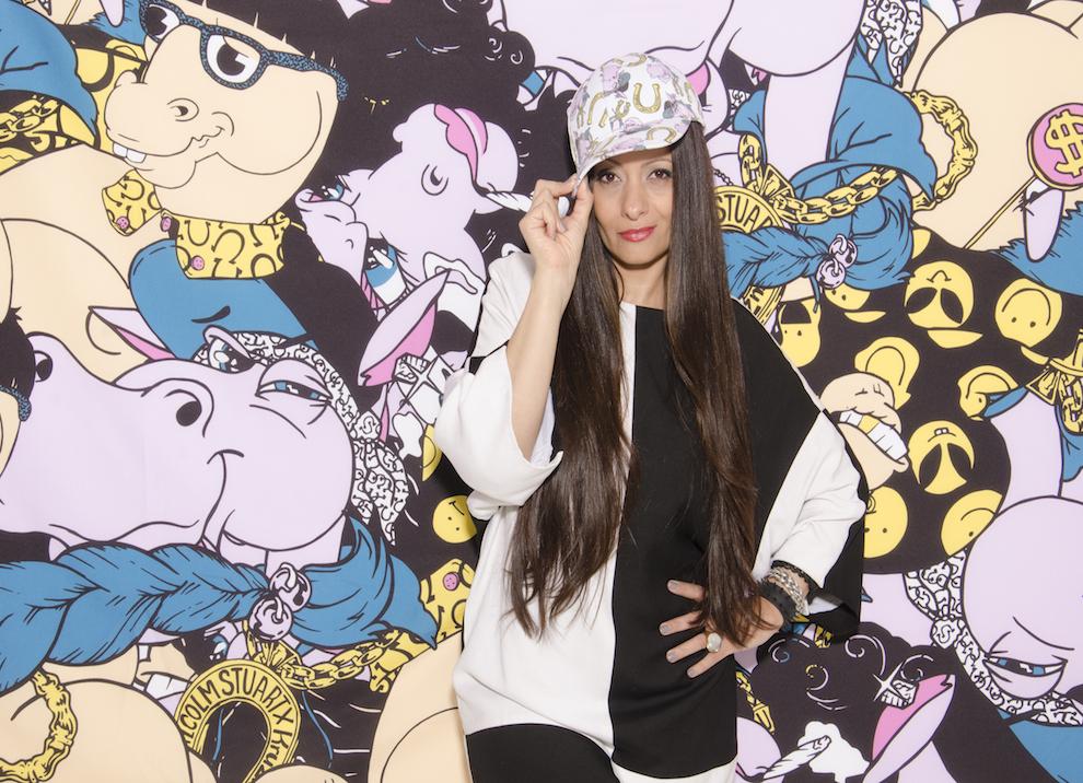 Kruzin Creative Director and shoe designer, Alessandra Gold.