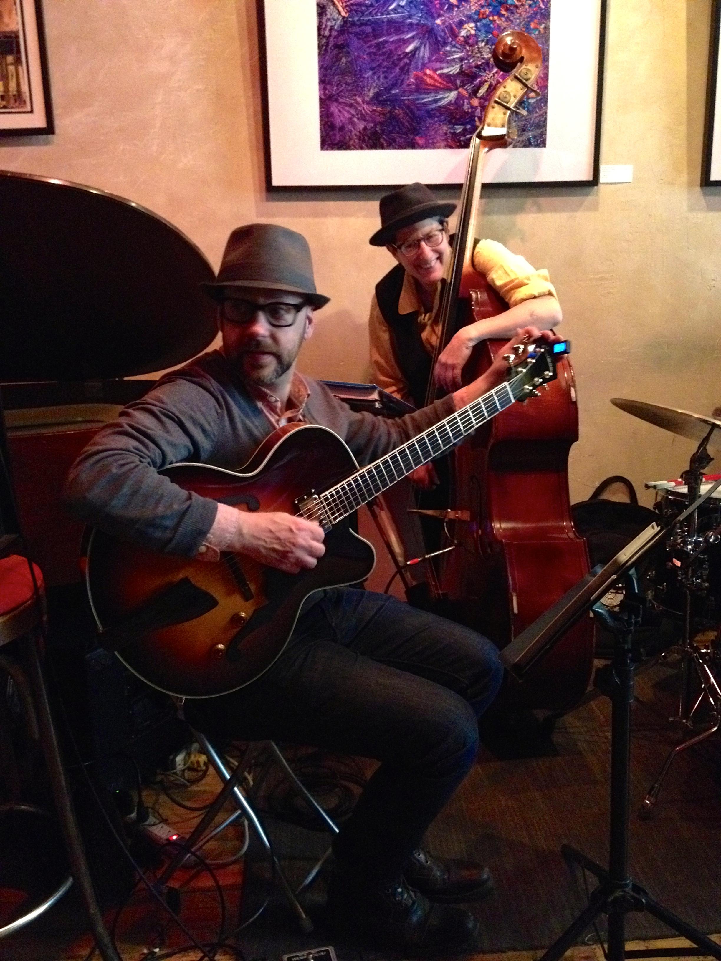 Jeff Hewer and Rachel Melas