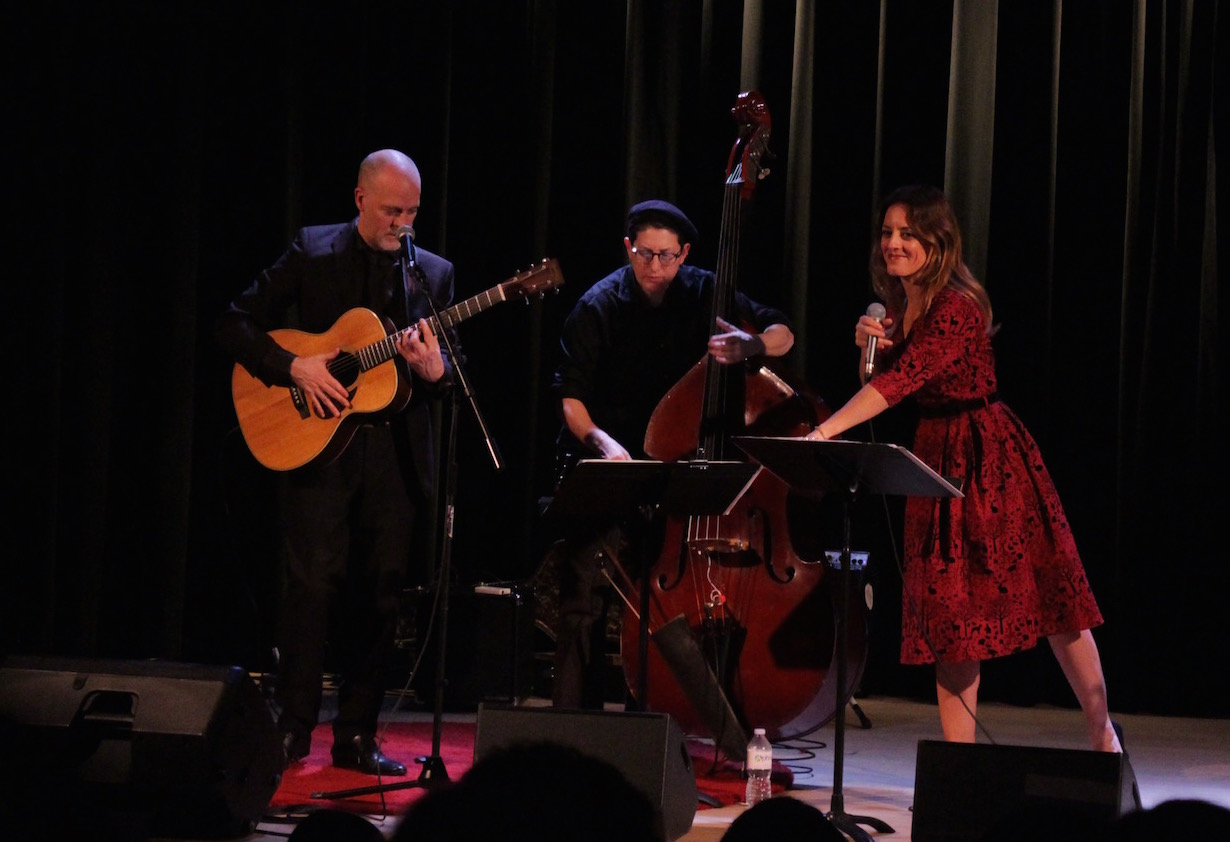 With Eric St-Laurent & Rachel Melas at L'Alliance française de Toronto, November 10, 2017