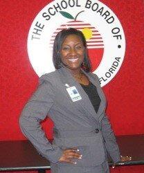 Proud Principal Gretchen Atkins-Brown