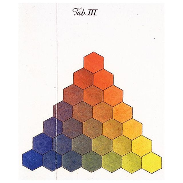 @publicdomainrev have bought together a fantastic collection of the various ways people have tried to visually organise and make sense of colour over the last four centuries. Pictured is Georg Christoph Lichtenberg's representation of the three-sided colour graph developed by the astronomer and mapmaker Tobias Mayer. Head to The Public Domain Review website and check out their article 'Colour Wheels, Charts, and Tables Through History' for the full collection.⠀ .⠀ .⠀ .⠀ #atf#australiantrendforecast#trendforecast#trendforecasting#globaltrends#colour#color#colortheory#colourtheory#colourwheel@designercolourwheel