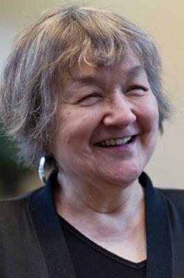 Kenzie Allen's mentor, Ernestine Hayes. Photo Source:  AKArts.org .