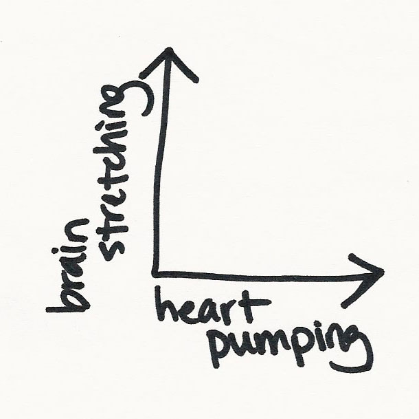 BRAIN STRETCHING x HEART PUMPING