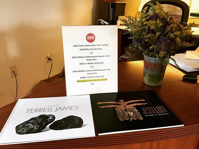 Be sure to check out our most recent exhibition catalogs for Jesse Lott and Terrell James!!! We have around 20 Jesse Lott catalogs available with a special signed Mel Chin print inside 🌟🌟