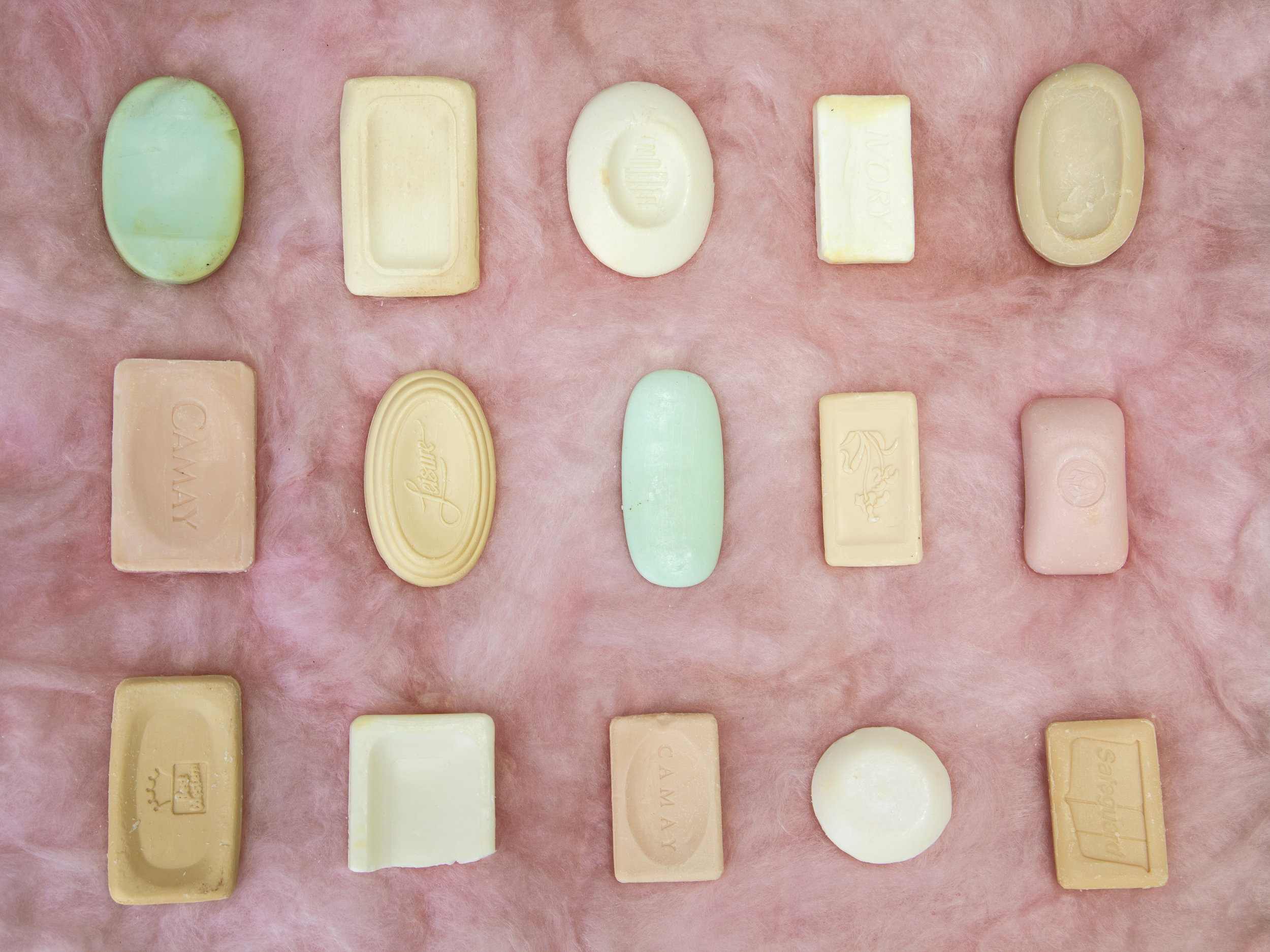 Emily Peacock  His Meyer Soap Collection (pink) , 2016