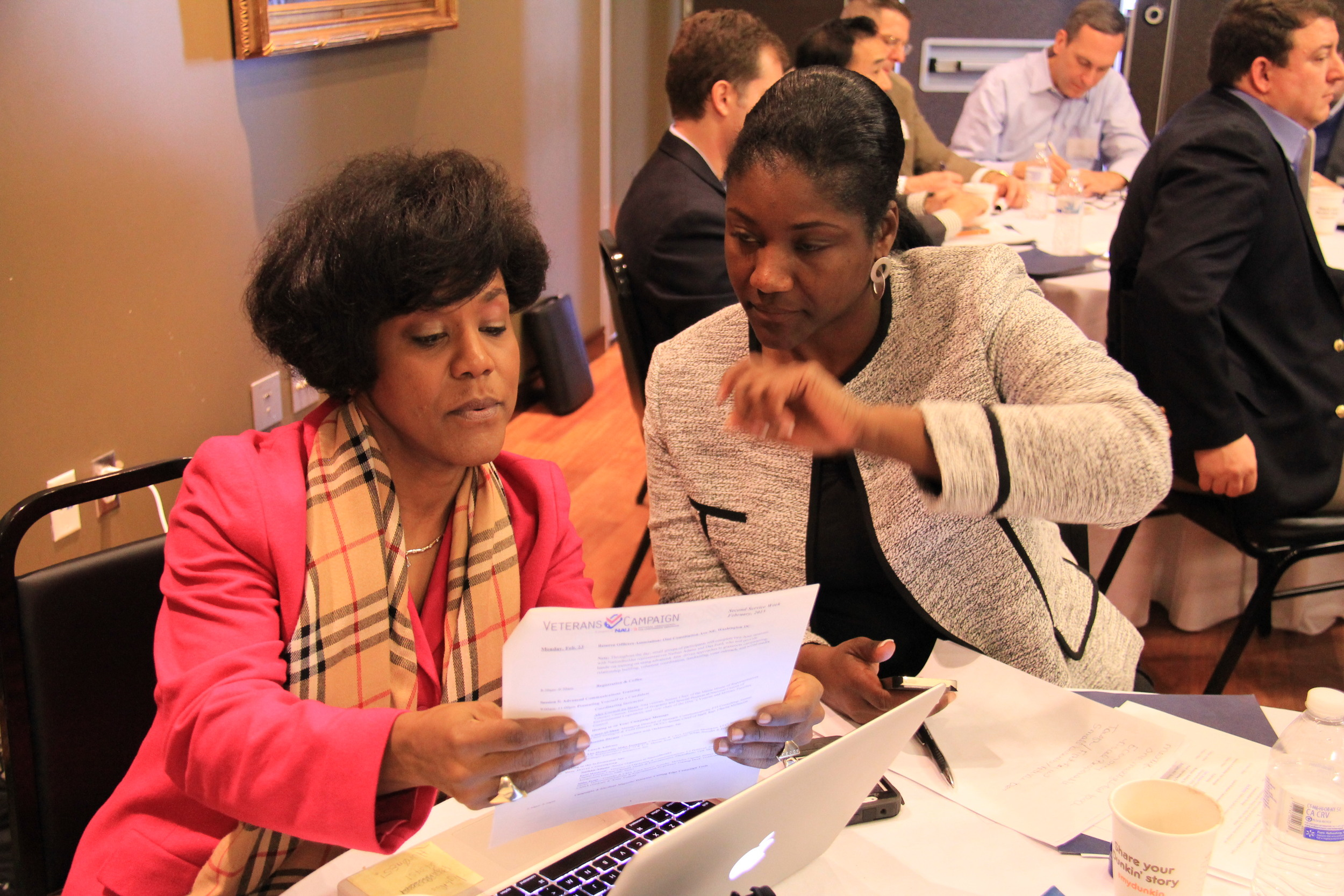 Civic activist and campaign manager Simone Lightfoot reviews communications and messaging plans