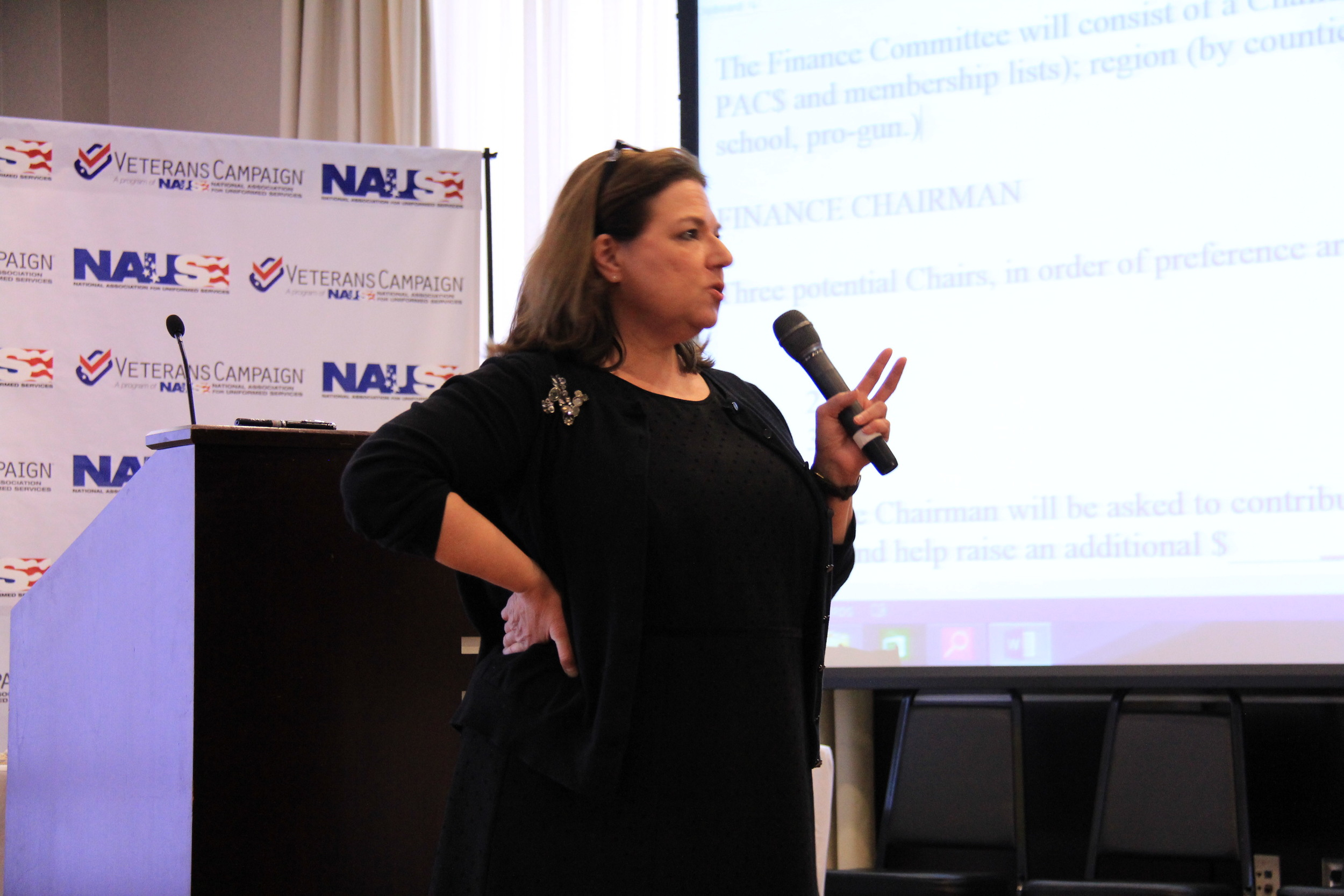 Fundraising expert Nancy Bocskor teaches pitch techniques