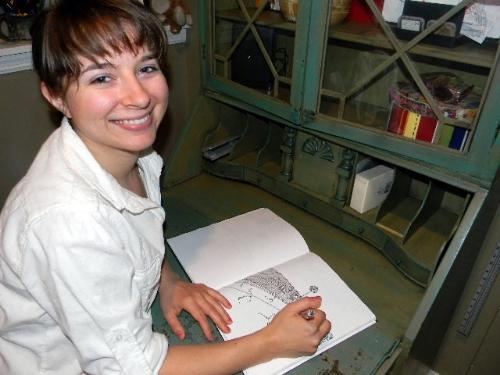 Artist Alexandra Betzler, Minneapolis, MN 2012
