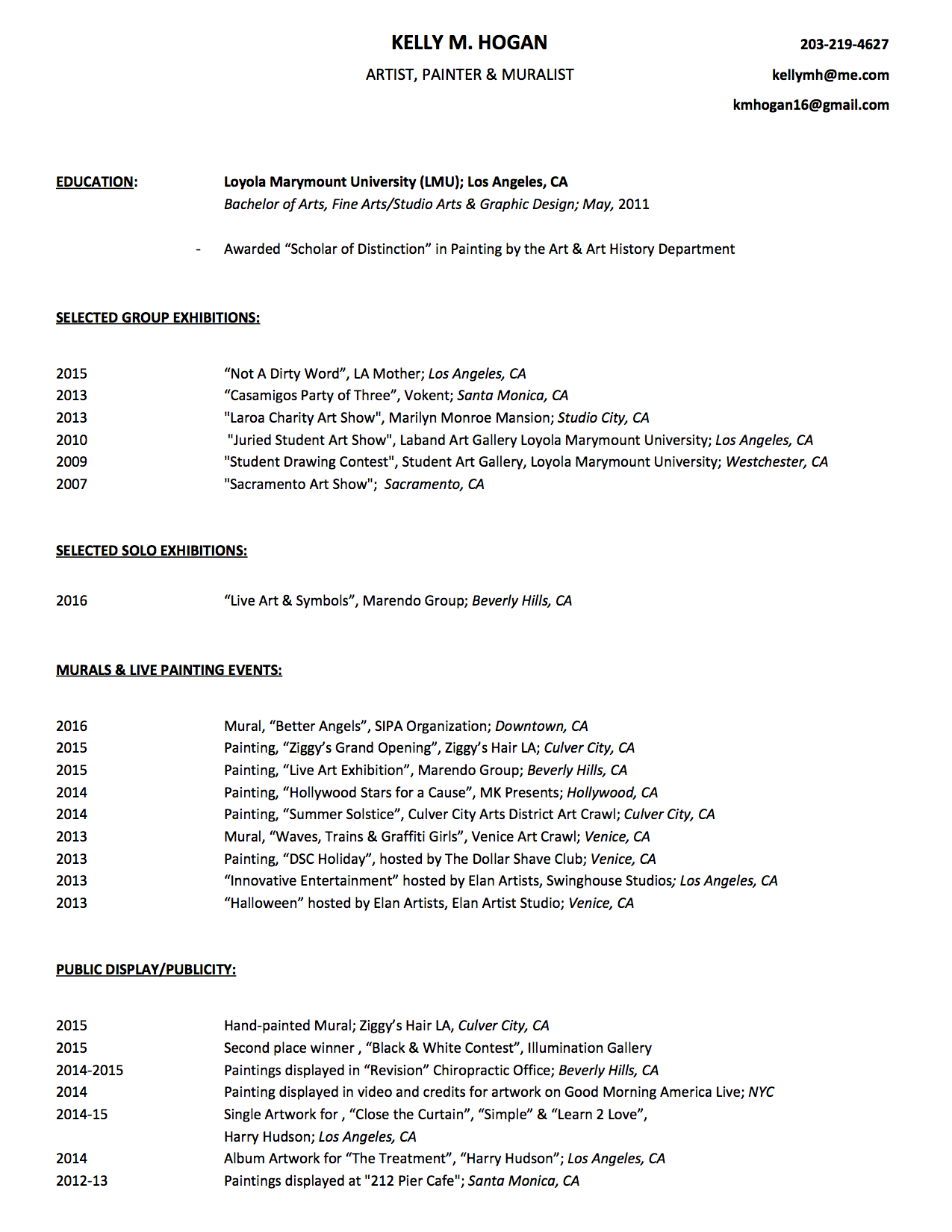 Kelly M. Hogan - Art Resume.jpg