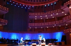 Dress rehearsal at the Arsht featuring jazz legends
