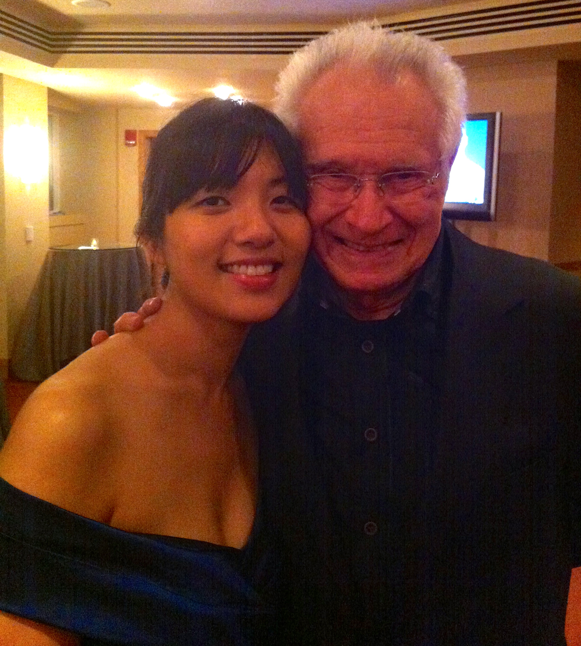 Classical piano meets jazz: Elizabeth Joy Roe with jazz great Dave Grusin