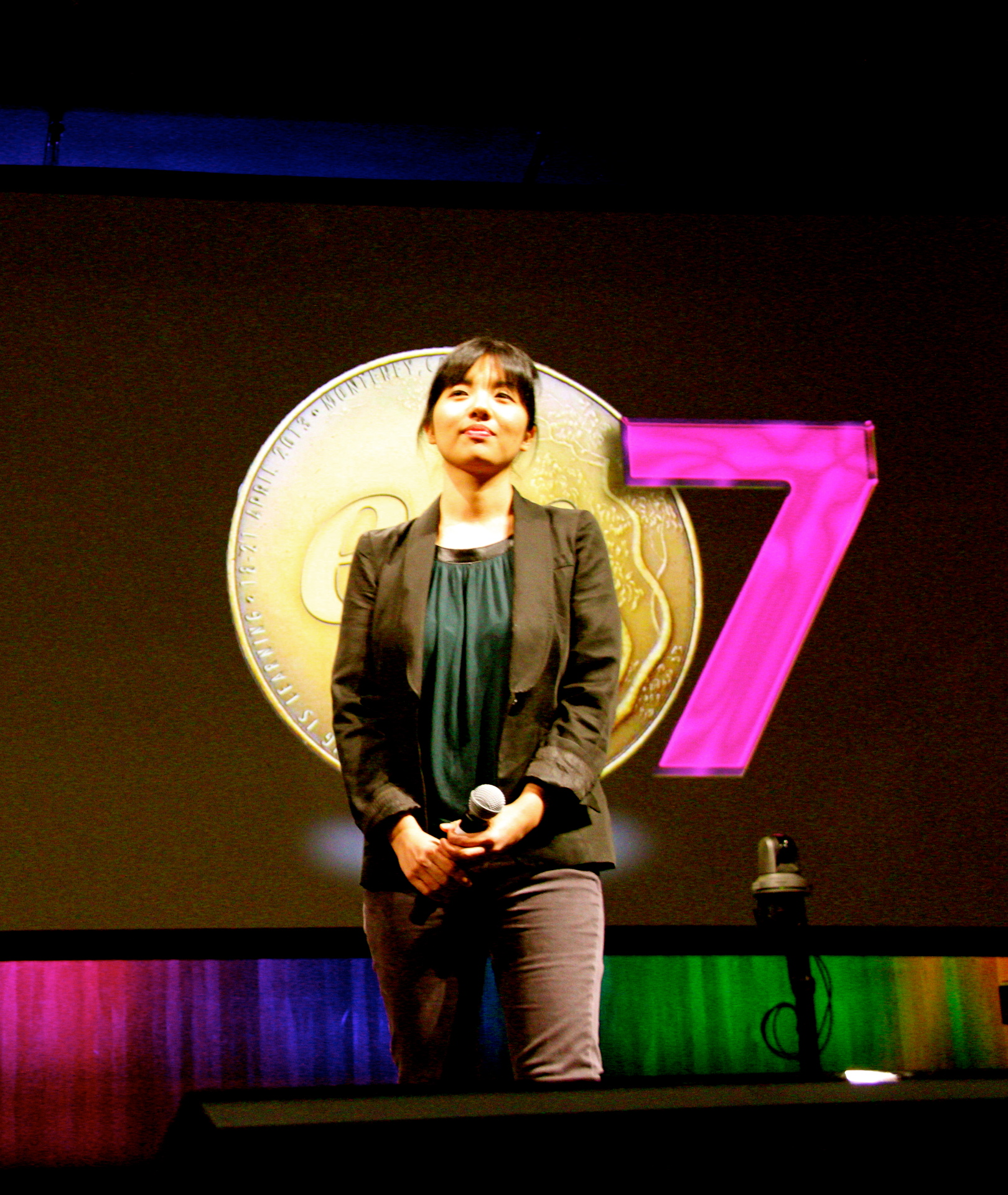 Elizabeth at EG7 in Monterey, CA