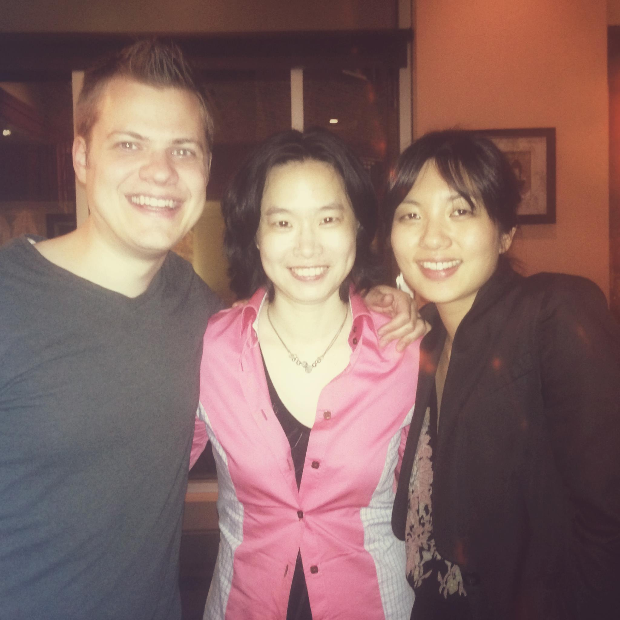 Anderson & Roe with Maestro Carolyn Kuan of the HSO