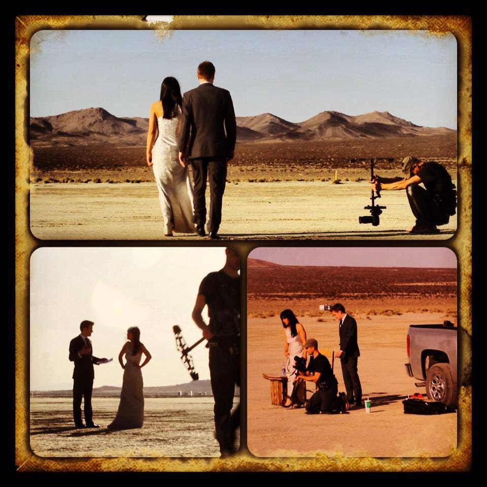 'Rite of Spring 100' film shoot in the desert