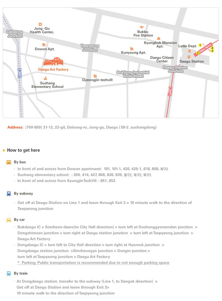 daegu_art_factory map