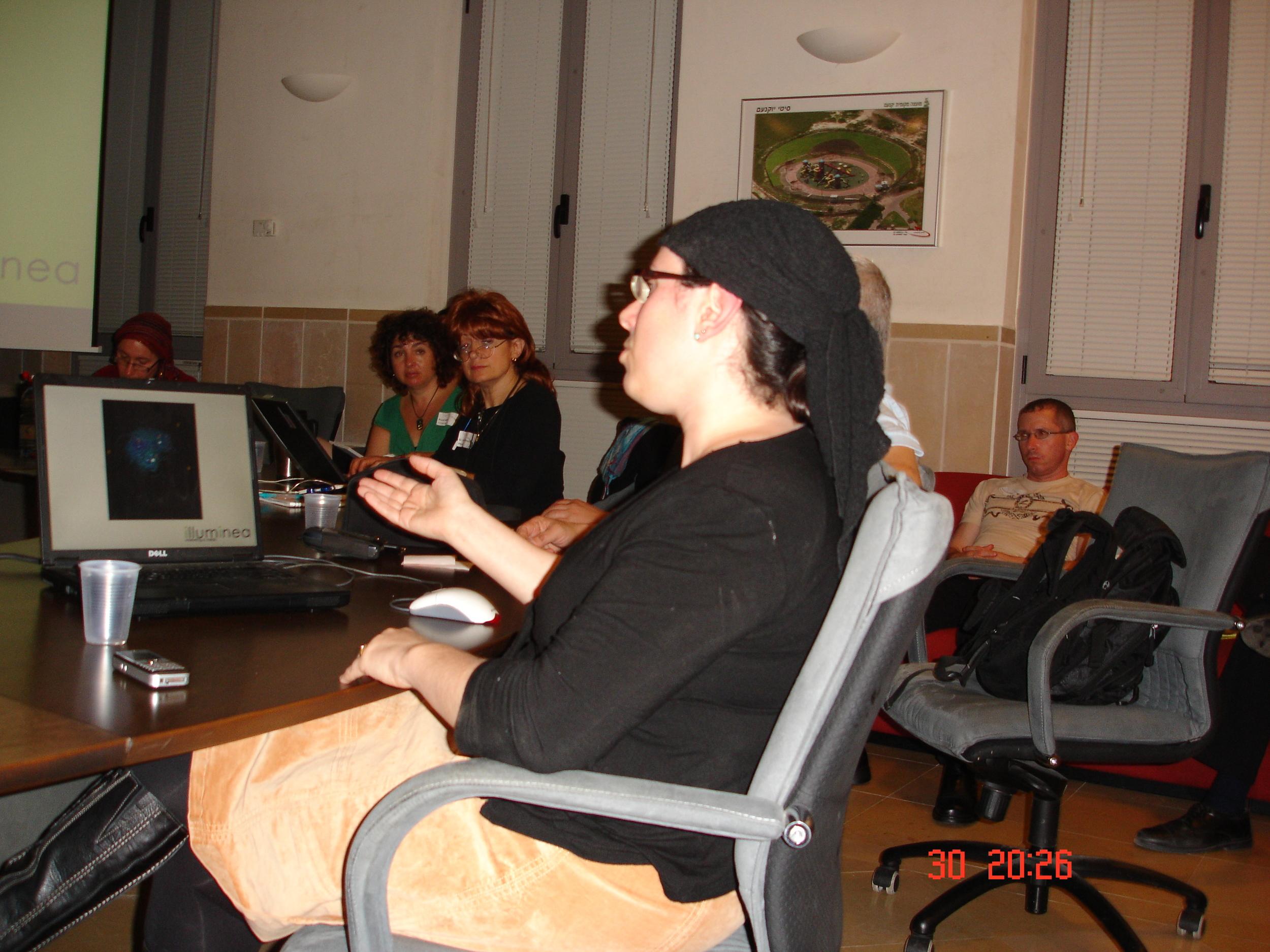 Miriam Speaks.JPG