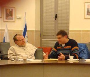 DavidSchor and Shmuel Goldstein.JPG