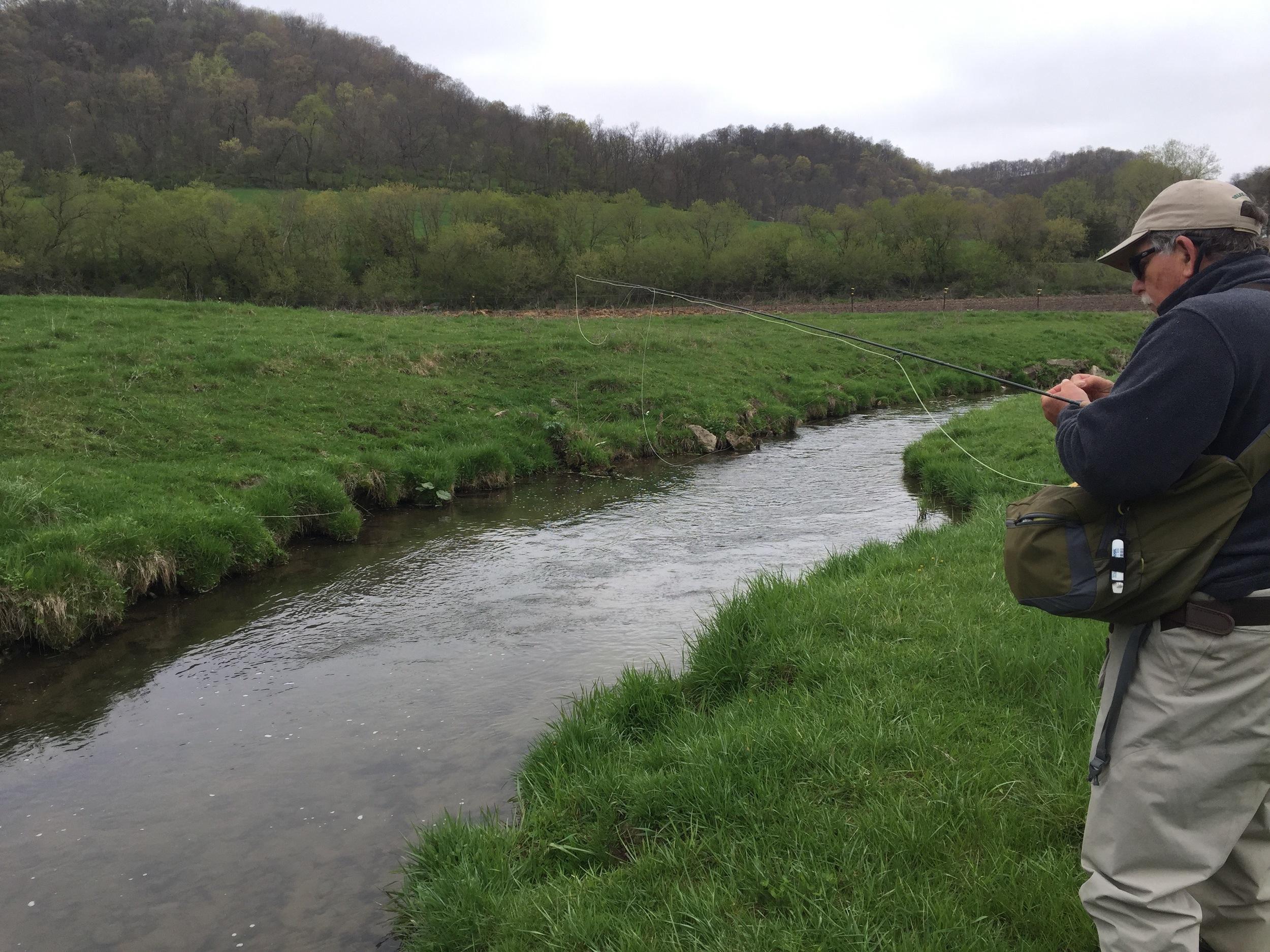 Jim Gitter - Guide from the Driftless Angler Fly Shop