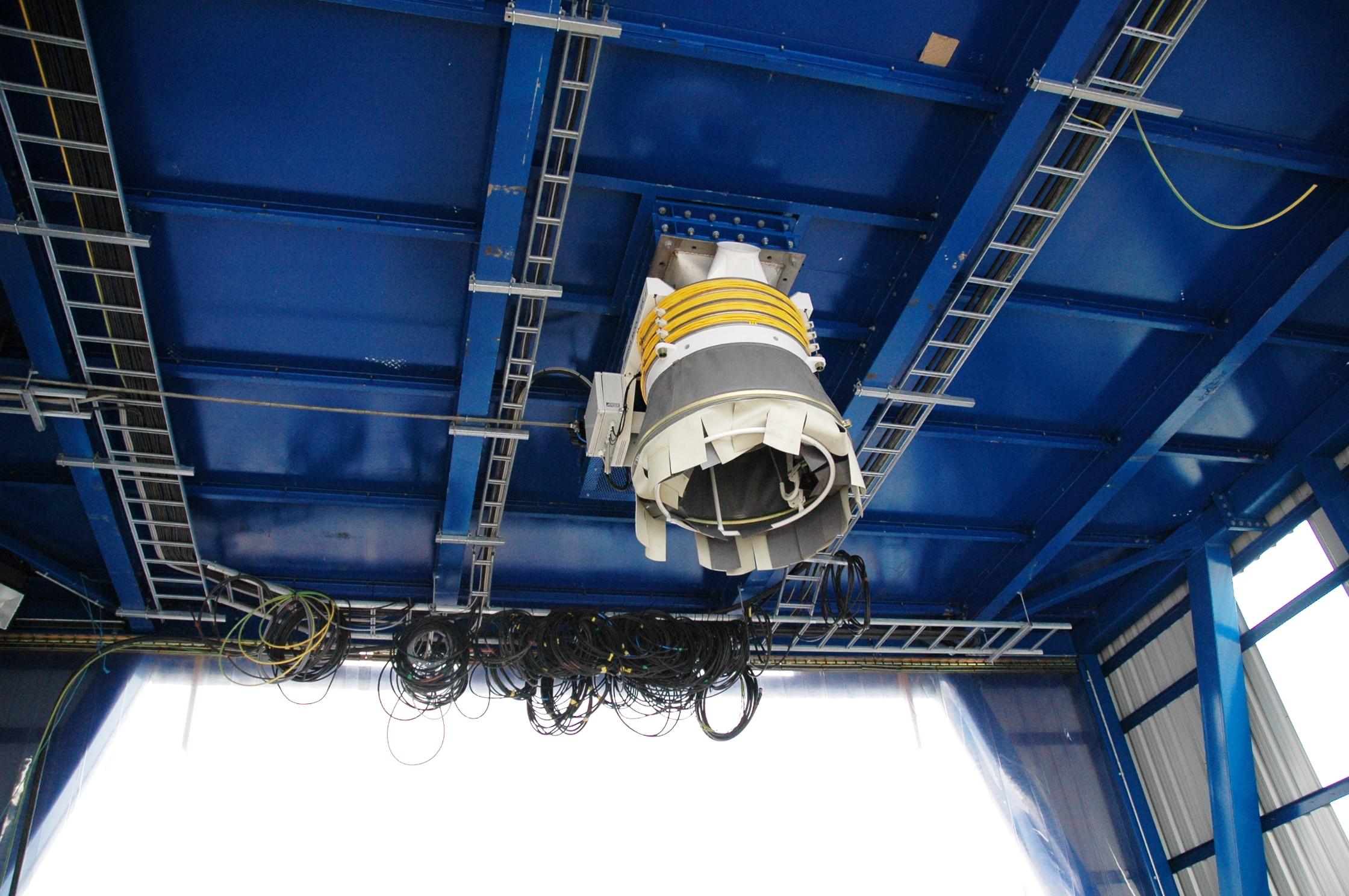 Discharge chute DOCKSOLID mobile hopper ship unloading Eco-hopper