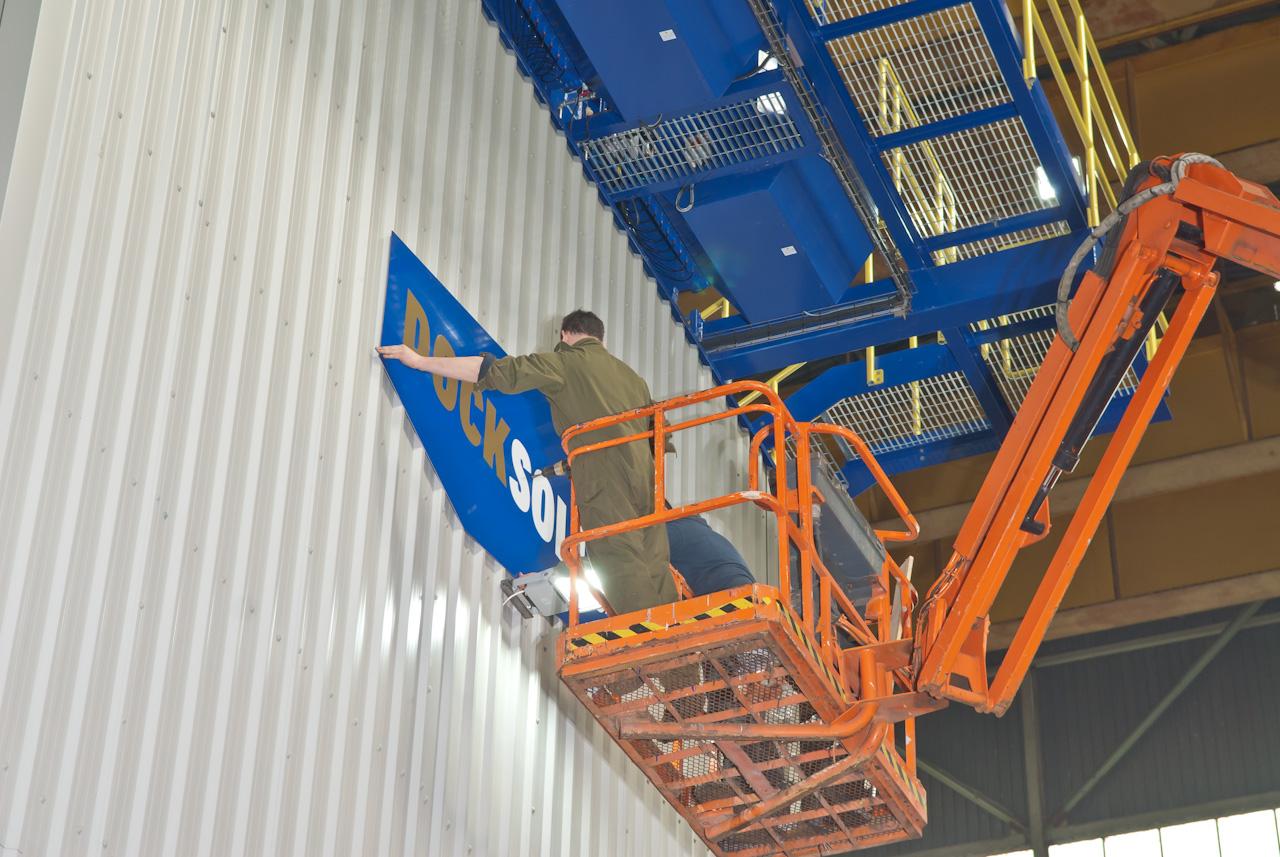 docksoiid hopper bulk port mobile Environmental dust control Eco-hopper