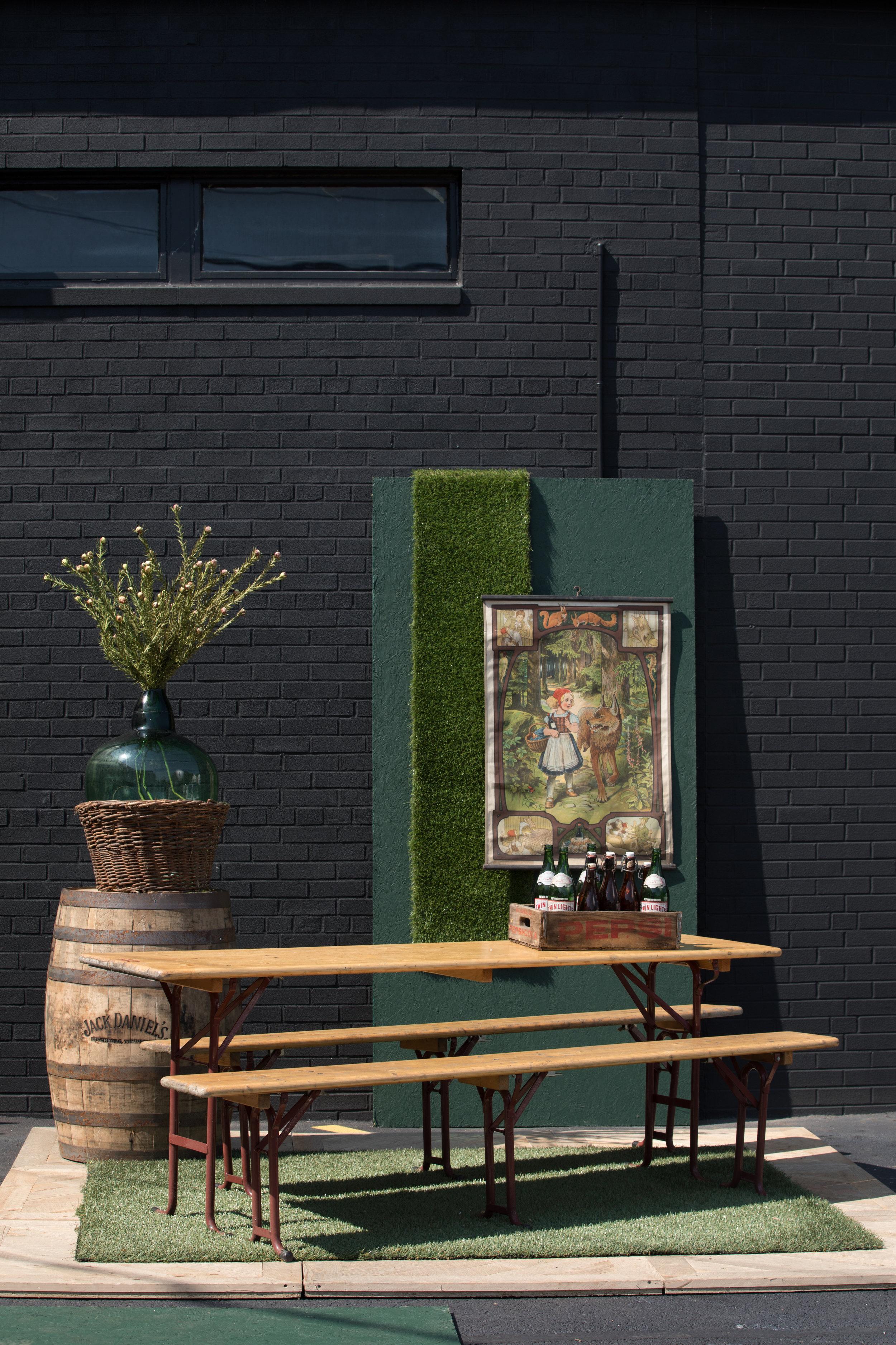 Beer Garden Outdoor Table Set $299