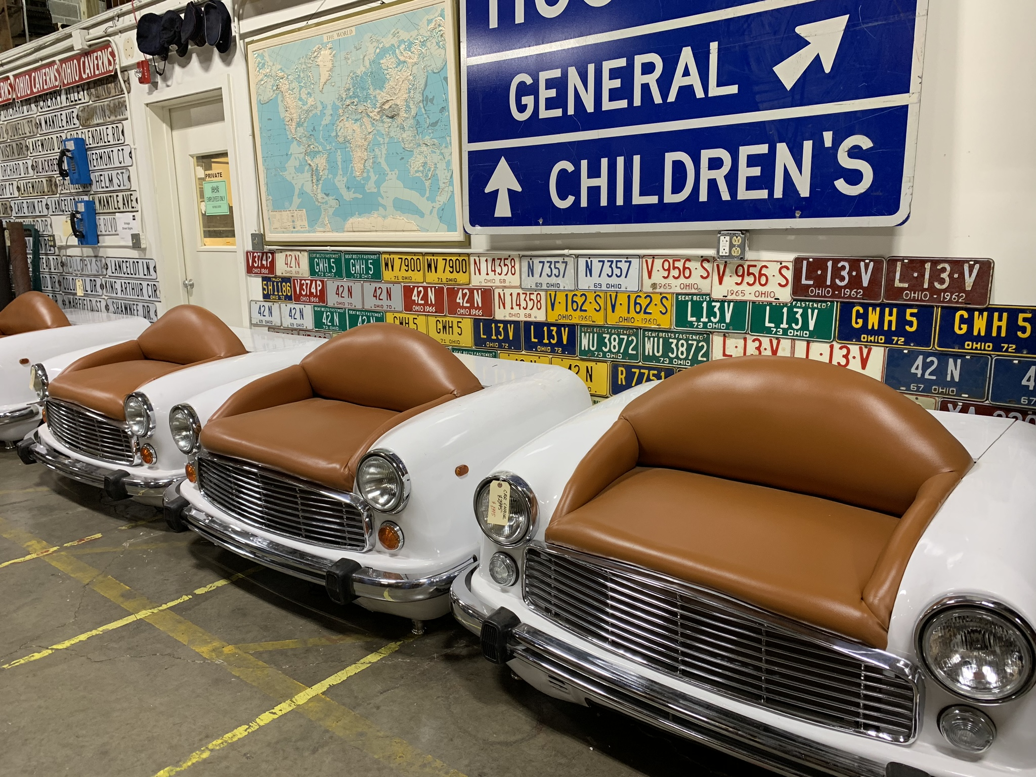Chair cars, Original Price $2,995 ON SALE FOR $1,995!
