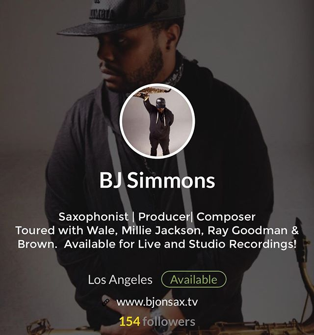 Industry luminaries!  Connect with My Card on Jammcard! https://webview.jammcard.com/#/1711 and find out how we can collaborate to make your next studio project a gold success! @bjonsax #LosAngeles #NYC #Dubai #DC