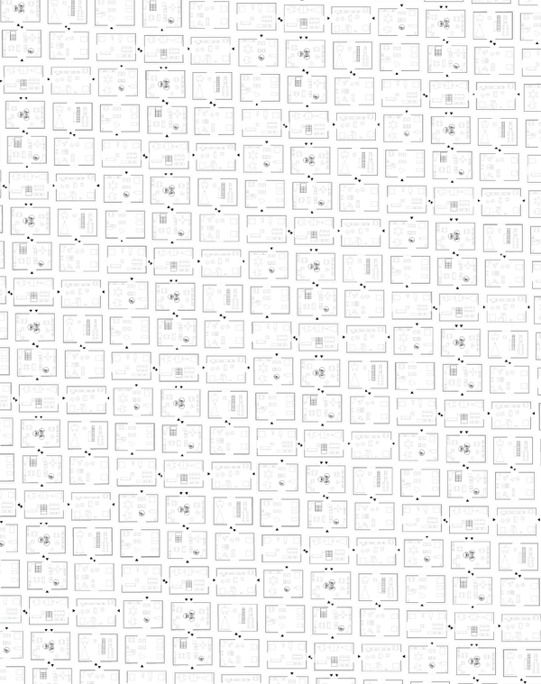 TRANSFORMATION DE 2 LOGEMENTS EN 6 APPARTEMENTS    Lieu  La Rochelle17000, France  Date  2014 2016 Mission  Mission complète Base + OPC  Equipe projet    FMAU, Z ingénierie, Abaque, 17 éco-partenaires  Programme  6 logements Malraux  Performance énergétique  RT 2012 Réno Surface  246 m2 SHON  Maîtrise d'ouvrage  Espace Investissement      Comment refaire à l'identique, et même mieux ?   Les centres historiques des petites et moyennes villes françaises furent délaissés par leurs habitants après la seconde guerre mondiale. La modernité avait la cote. En 1962, André Malraux fait voter une loi de création de secteurs sauvegardés associée à un ambitieux plan de défiscalisation.  L'objectif : rénover les centres anciens, et stimuler la réimplantation d'habitants en cœur de ville.  Ce dispositif connaît encore aujourd'hui un grand succès, puisqu'il a sauvé grand nombre de villes d'un exode suburbain, avec cependant de grandes différences dans les résultats. Les villes universitaires et touristiques ainsi que les grandes agglomérations ont largement bénéficié de cette loi, alors que les villes moyennes plus ordinaires n'ont pas connu l'impact souhaité. L'autre effet induit tient dans le découpage de grandes demeures en plusieurs appartements.  La transformation de l'hôtel particulier en 6 logements s'inscrit dans cette logique. Comment modifier un bâtiment conçu pour un usage familial du XVIIIème siècle, en 6 logements de taille modeste. Comment rester fidèle aux proportions et à l'ampleur originelle en coupant les pièces en 2.  Le projet fait pivoter les enfilades, et les retourne le long des murs mitoyens. De nouvelles perspectives sont créées, traversant le bâtiment du nord au sud. Au sud, côté rue : les séjours. Au nord, côté cour : les chambres.  Pour tromper toute références de volumétrie ou de dimensionnement, des éléments perturbent la lisibilité des nouvelles pièces. Le parquet en chêne est posé en diagonale, les plinthes sont surdimensionnées, et les faïences sont