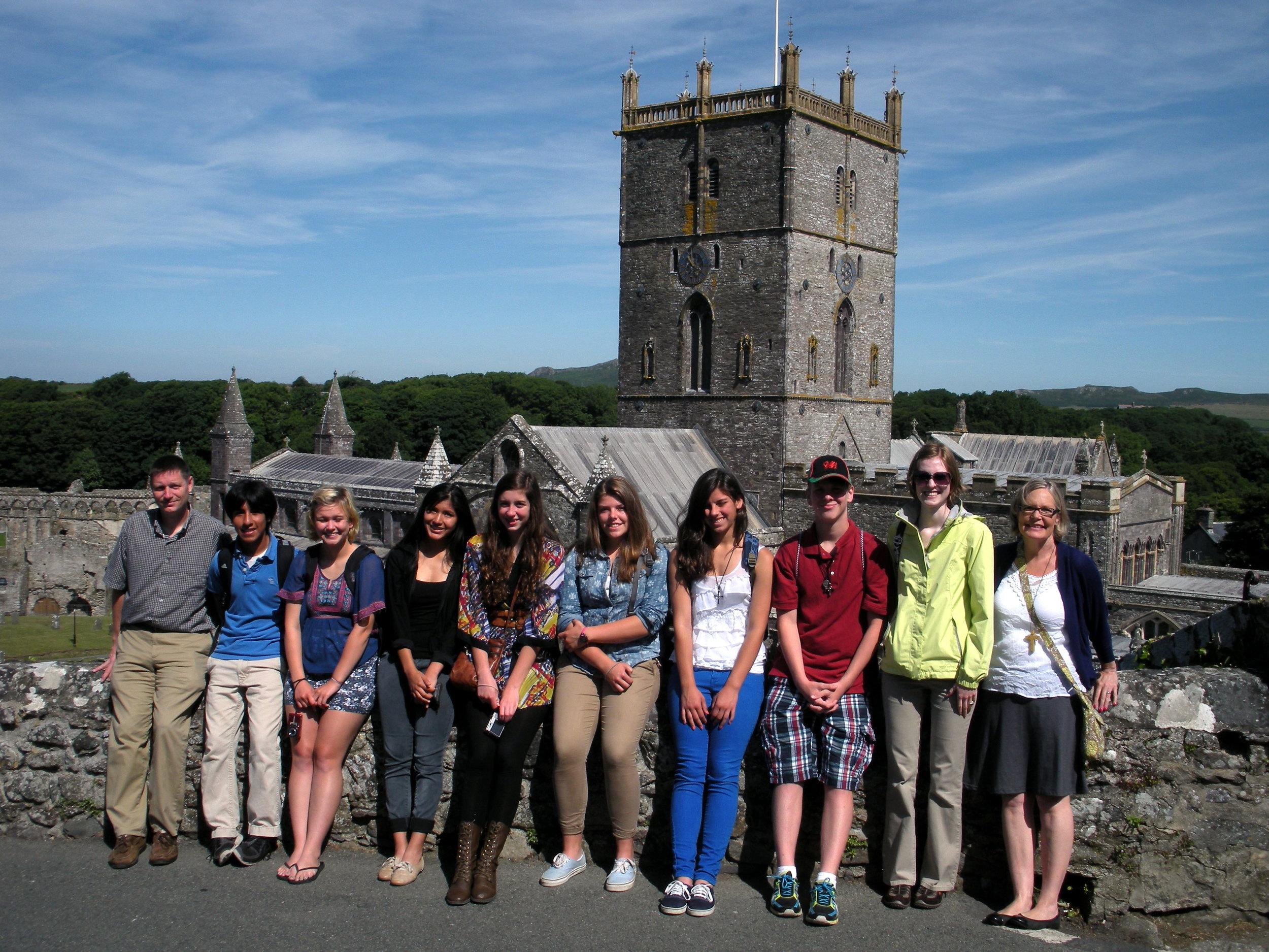 2013 Teen Pilgrimage to Wales