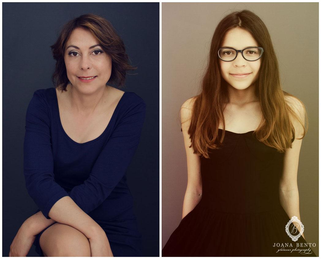 fotografia mae e filha 2