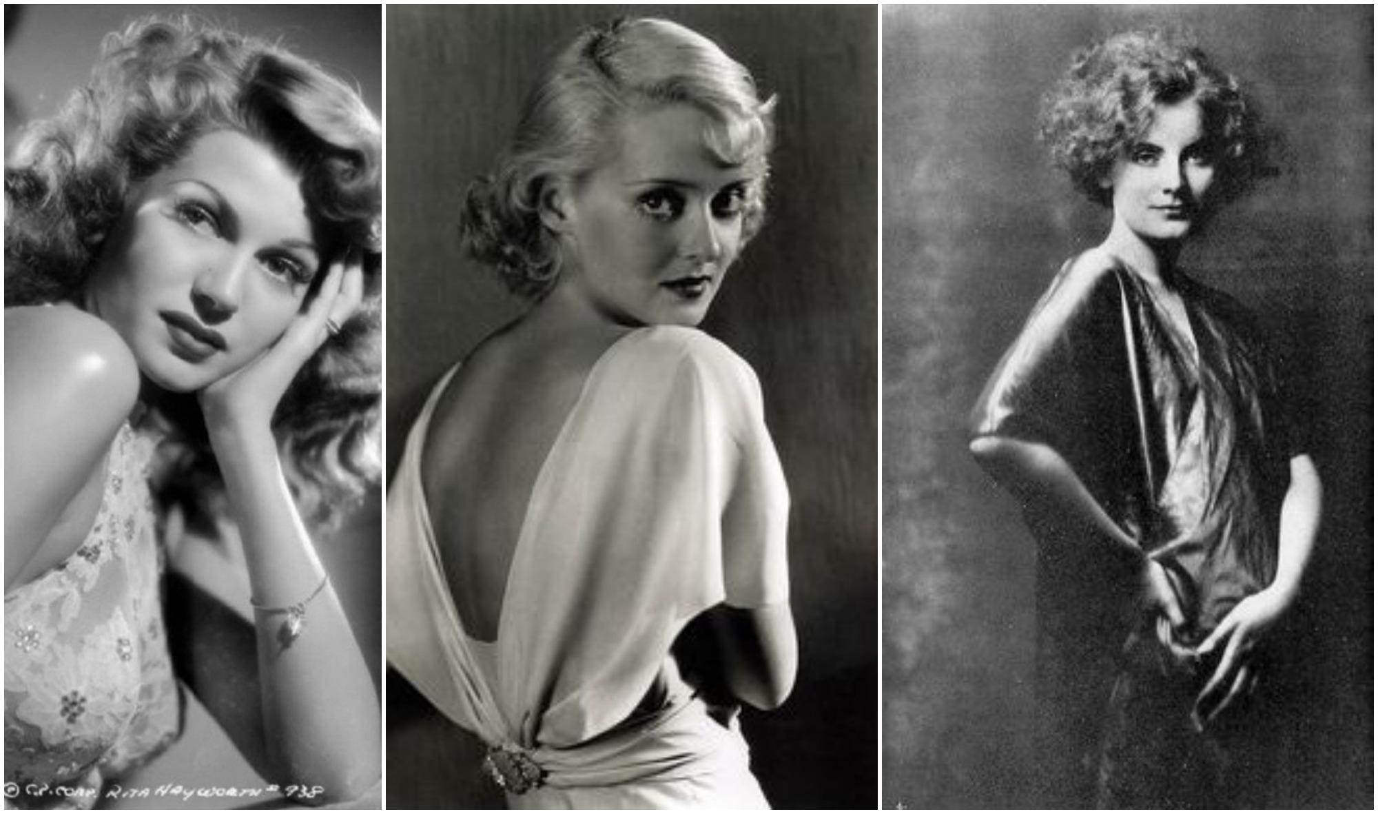 Rita Hayworth, Bette Davis e Greta Garbo