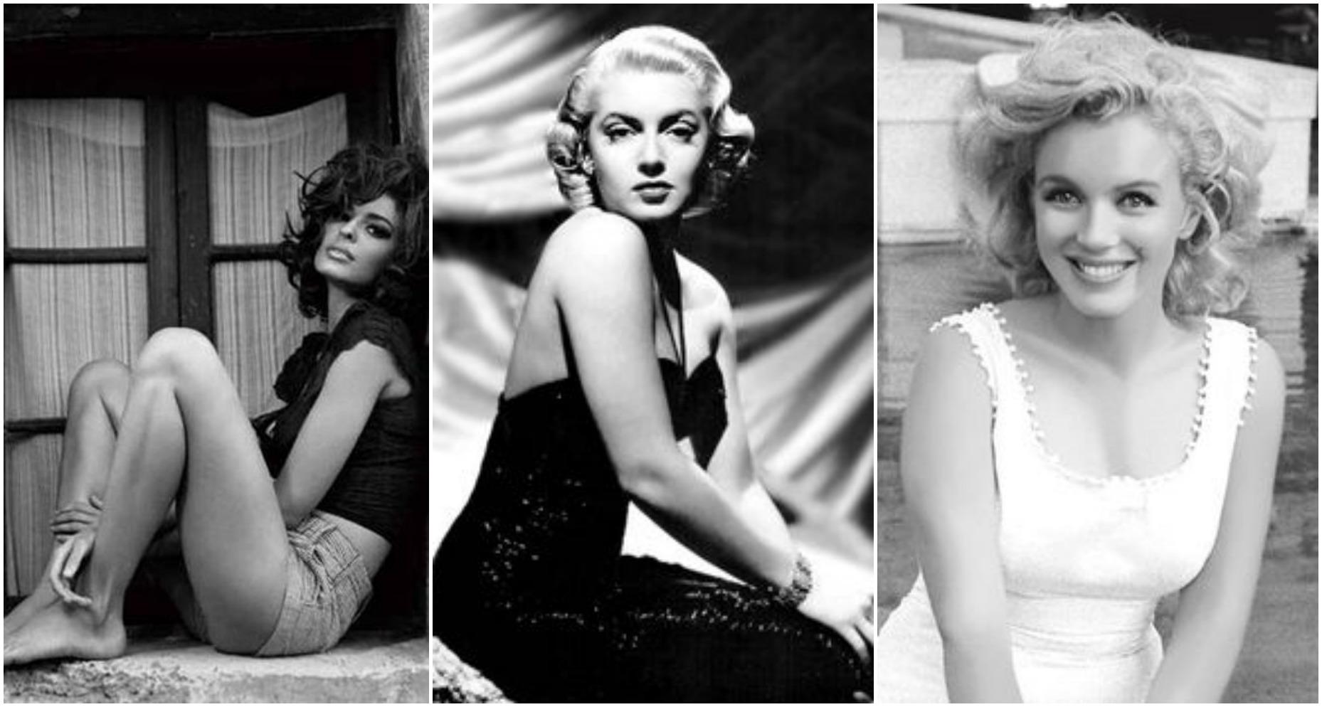 Sophia Loren, Lana Turner e Marilyn Monroe