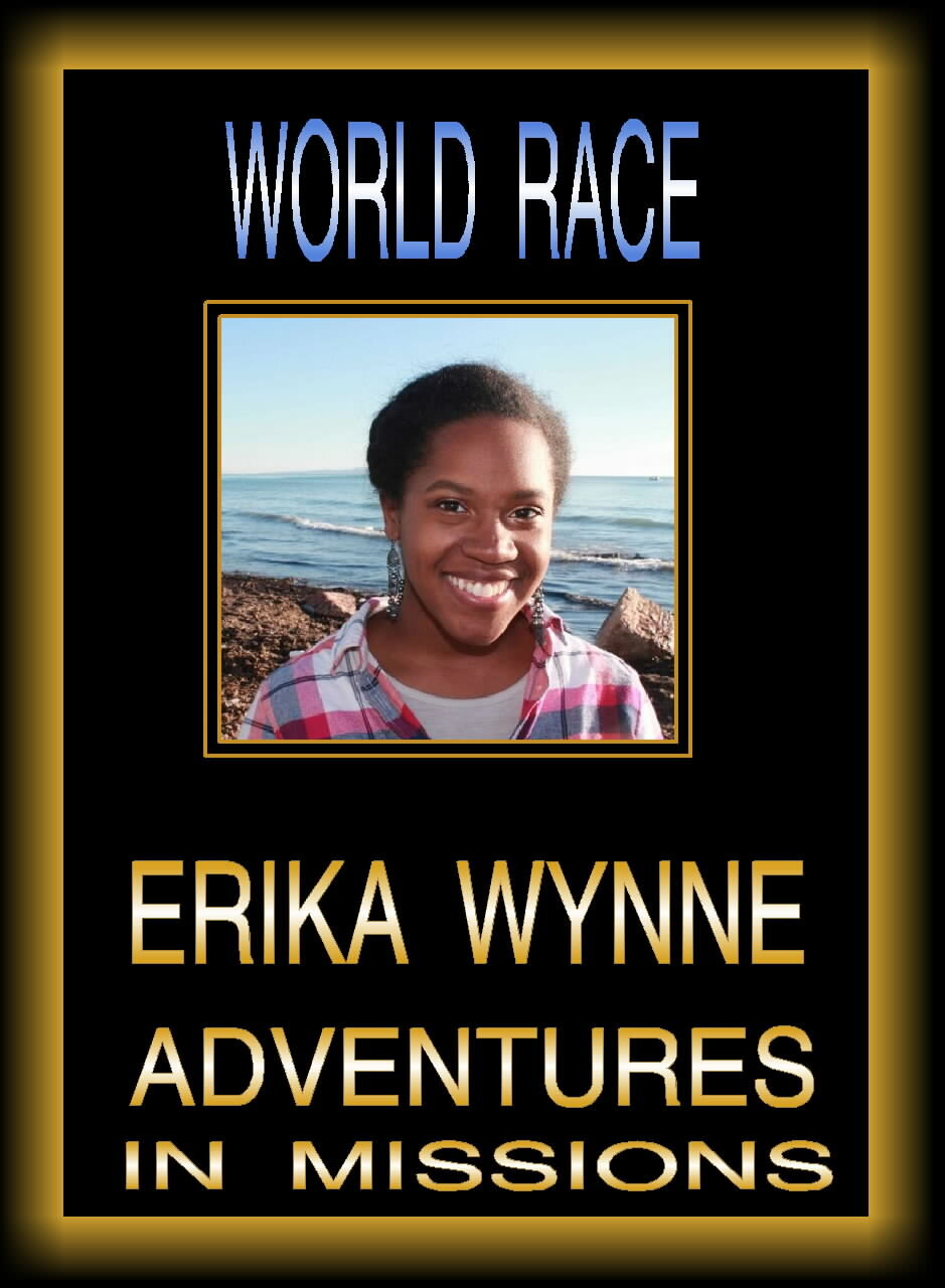 Adventures in Missions World Race - Erika Wynne