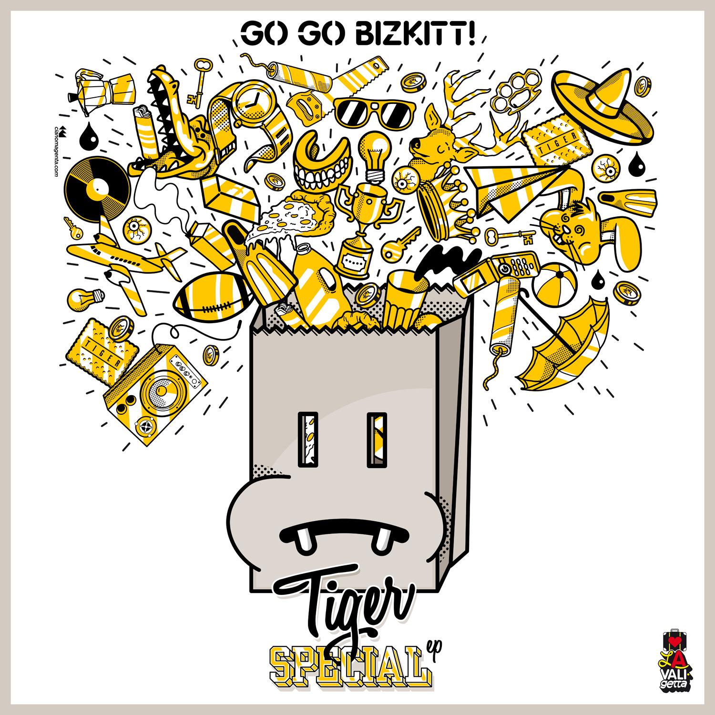 DV038 / Go Go Bizkitt! - Tiger Special ep