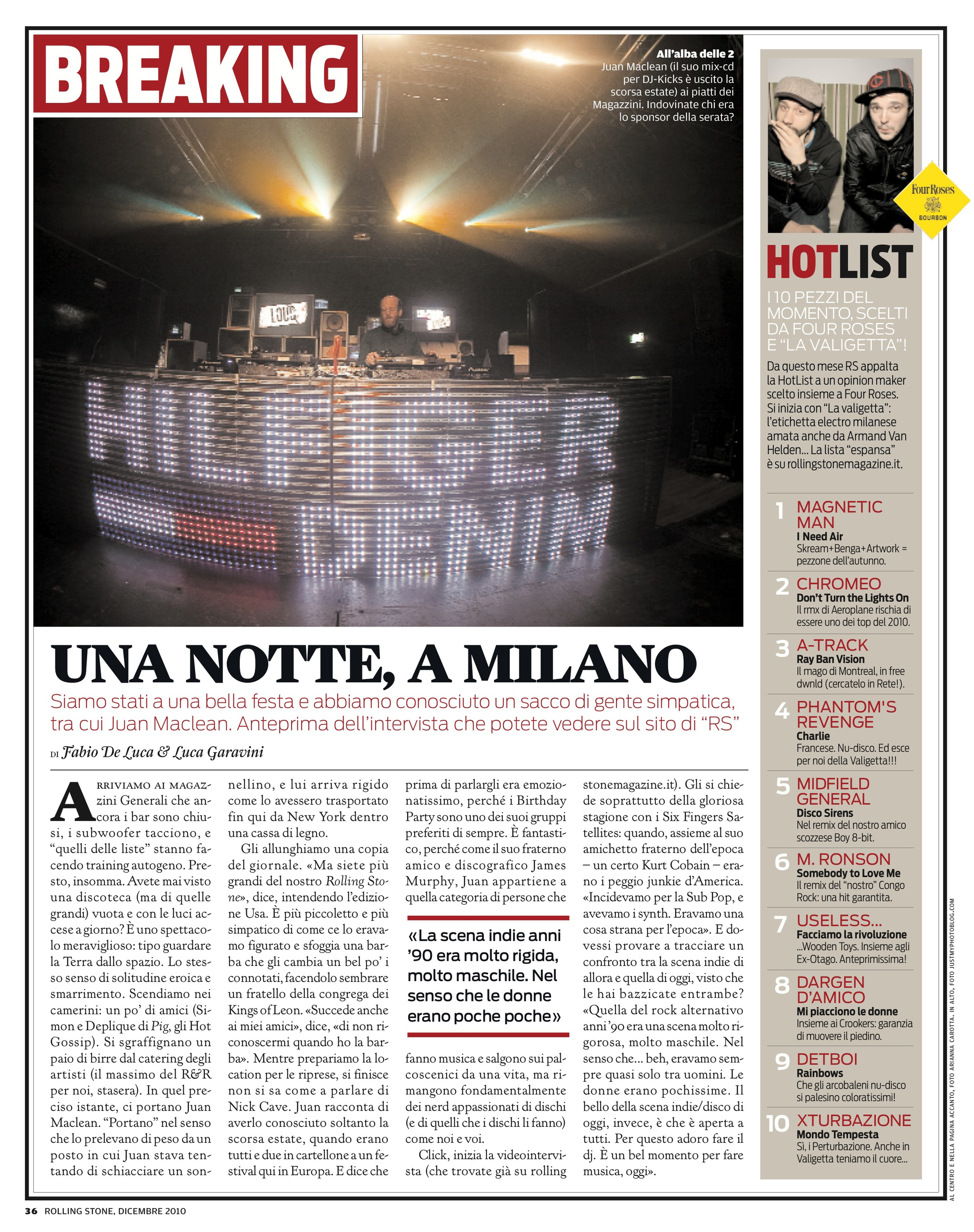 La Valigetta / Rolling Stone