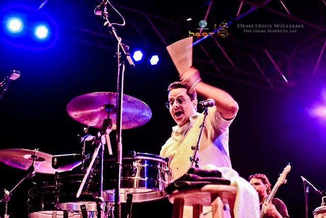 Tito Puente, Jr - Atlanta Jazz Fest 2012