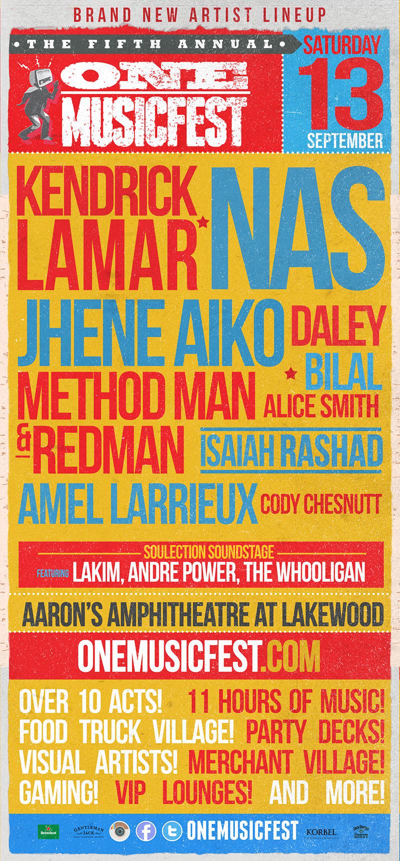 ONE Musicfest lineup