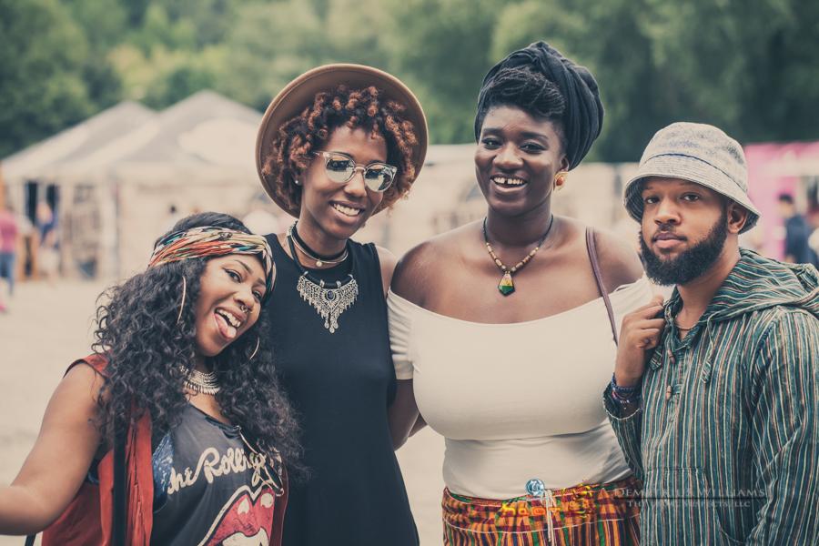 Attendees at ONE Musicfest                                    Photo: Demetrius Williams
