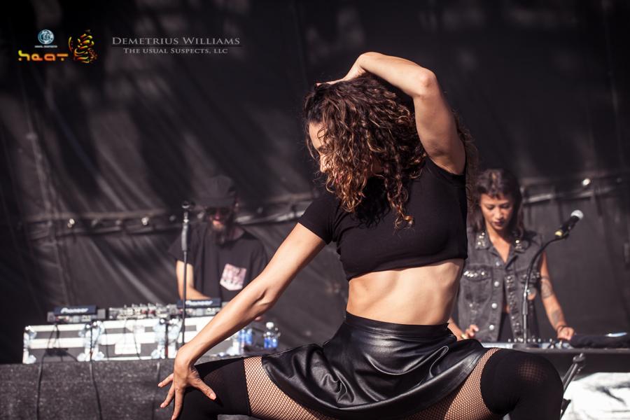 Icona Pop dancer
