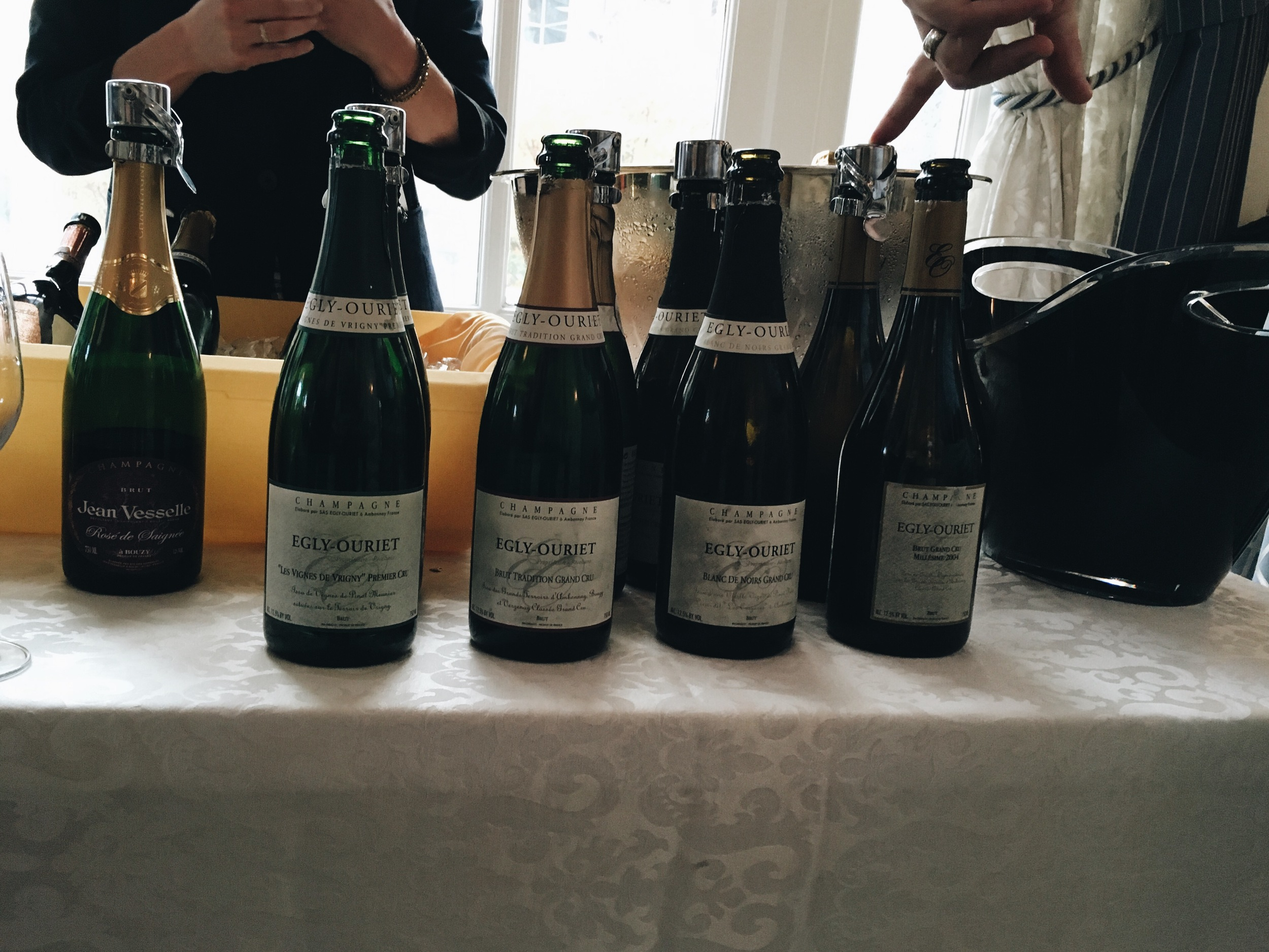 We recently attended a large Champagne tasting which included some of the most expensive and famous bottlings of Champagne. For us Egly-Ouriet was handily the best in show, drinking better than wines more than 3-times the price.