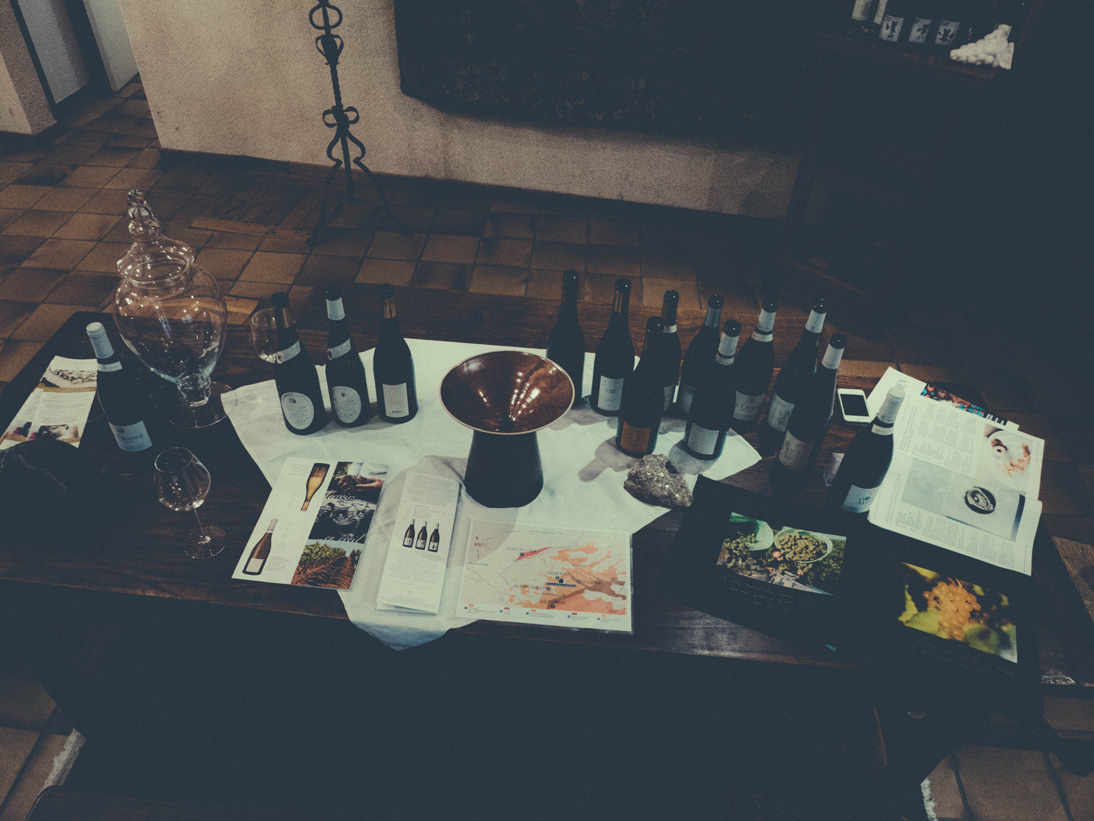Tasting room at Luneau-Papin