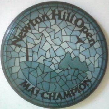 Newton Hill Open 2013 Trophy